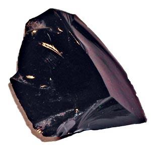 Cristaux et Géométrie cristalline Obsidienne