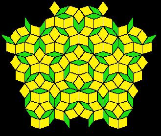 Cristaux et Géométrie cristalline Penrose