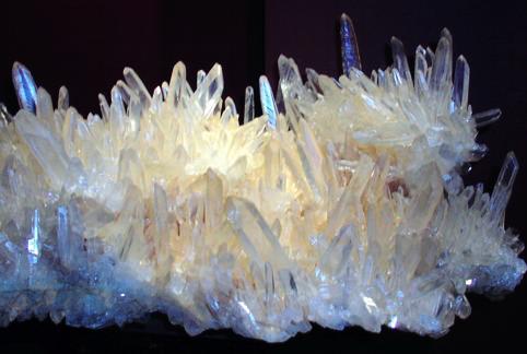 Cristaux et Géométrie cristalline Quartz