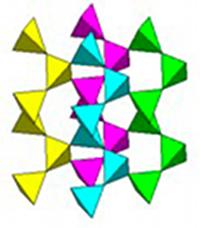 Cristaux et Géométrie cristalline Silice
