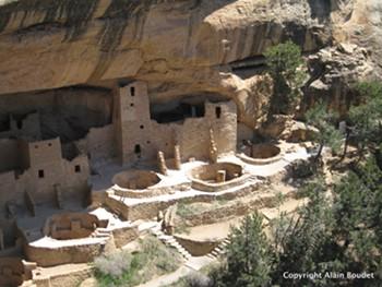 Habitations troglodytes de Anciens Pueblos
