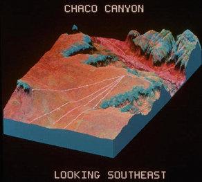 les lignes de Chaco Canyon