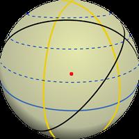 Grand cercle d'une sphère