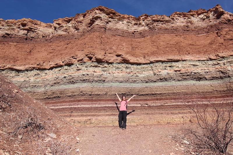 âge relatif datant des couches rocheuses