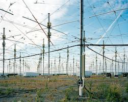Le réseau d'antennes HAARP en Alaska